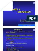Areografia y Dispersion