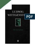 Witt Gen Stein, L. - On Certainty