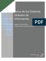 Retos de los sistemas globales de información