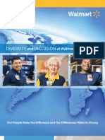 2011 Walmart Diversity and Inclusion A