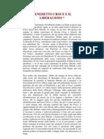BOBBIO, Norberto- Benedetto Croce e Il Liberalismo (Ita)