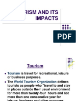 Tourism and Its Impacts