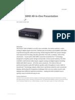 DVX 3150HD.datasheet