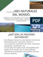 Regiones Naturales Del Mundo