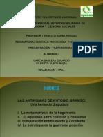 ANTINOMIAS PRESENTACIÓN GARCIA BARRERA Y RUEDA ROJAS