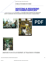 Switch Mode Power Supply - Work at Home Success