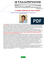Testimony of a Former Homoeopathy Practitioner-i