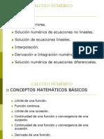 1. Cálculo Numérico