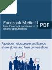 Facebook Media 101