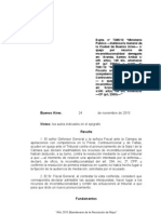 TSJ 2010-11-24_ expte._ 7385-10_ministerio público en aranda