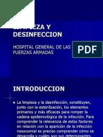 LIMPIEZA Y DESINFECCIONDERMATOLOGICO