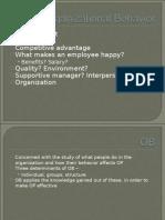 Organizational Behavior MU