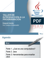 134_taller de Introduccion a La Programacion Java