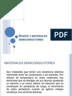 Diodos y Materiales Semi Conduct Ores