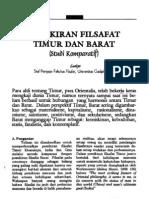 Filsafat Timur Dan Barat Ugm