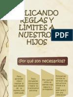 APLICANDO REGLAS Y LÍMITES A NUESTROS HIJOS