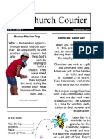 The Church Courier, September 2008