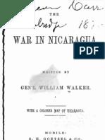The War in Nicaragua