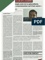 Interview de Dominique Decaestecker, DG d'Arvato