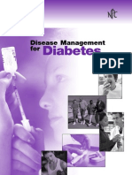 Disease Management for Diabetes
