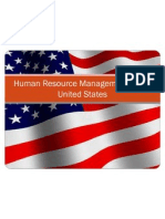 Human Resource Management in the United States