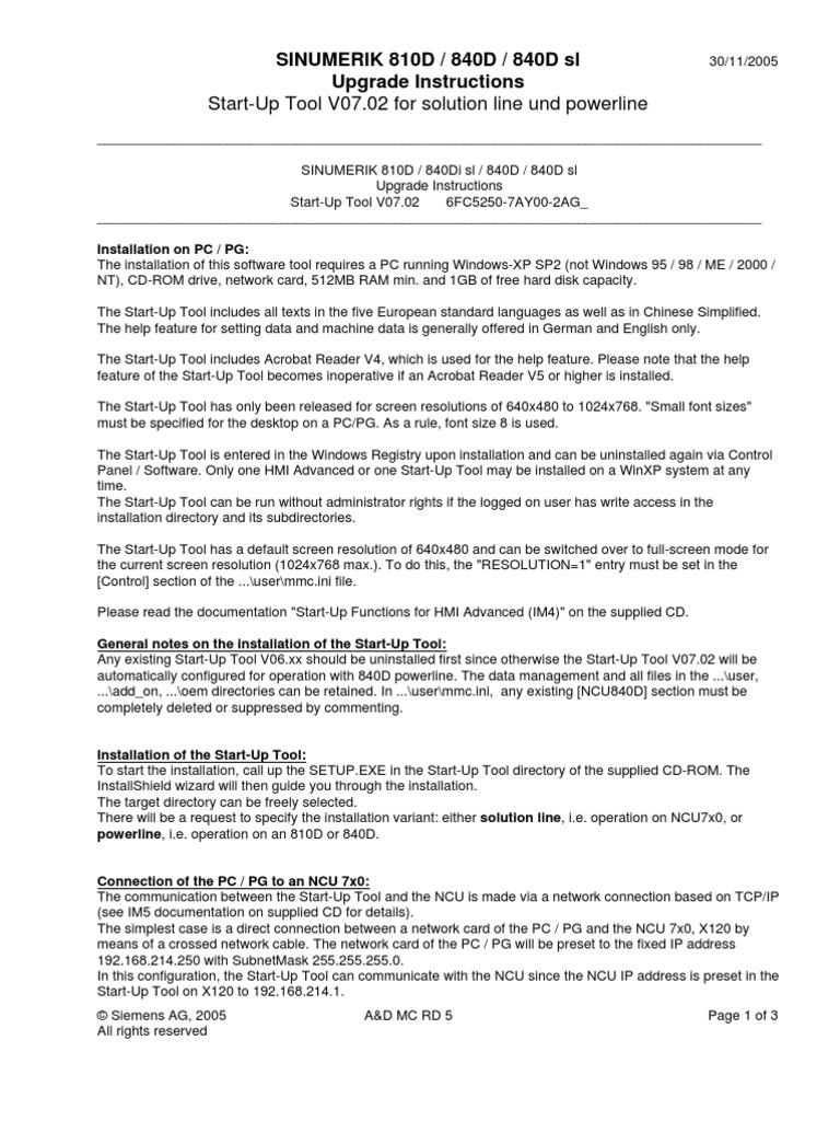 HMI_IBN_072010_76 | Installation (Computer Programs