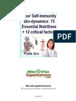 Immune System Bio Dynamics