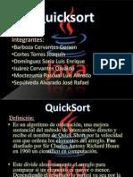 Presentacion Estructura Quick-sort