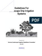Arizona; Guidelines For Landscape Drip Irrigation Systems - Arizona Municipal Water Users Association