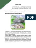 INDICADORES DE SUSTENTABILIDAD EN MÉXICO