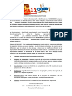 Contrato de Venta e Implementacion de Licencia de Software