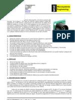Datasheet_Manual Del MaxSonar-EZ1