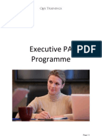 Executive PA Master Class - June Session