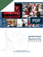 Santa Fe College 2008-09 Catalog