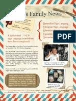 Ellis Family Newsletter #6