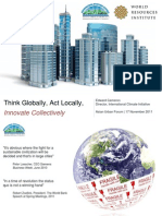 Think Globally, Act Locally, Innovate Collectively