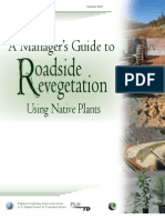 A Manager's Guide to Roadside Revegetation Using Native Plants