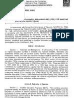 CMO 13 S 2005 (Maritime Education)