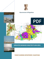 Greater Bhiwadi Master Plan 2031