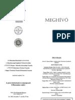 Meghívó (könyvbemutató, 2011. dec. 7., Pécs)