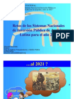 Presentacion SNIPs Peru 2010