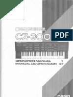 Casio CZ3000 Manual