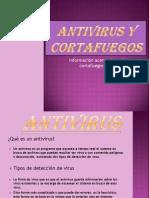 Antivirus y Cortafuegos