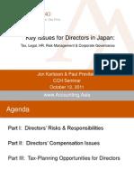 CCH AA Directors Presentation