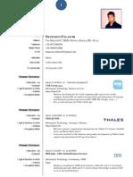Francesco Falaschi CV english version