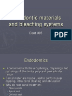 Lecture 15 & 16- Endodontic materials and bleaching systems (Slides)