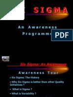 SIX SIGMA -An Awareness Programme