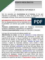 UNIDAD 7. RIESGOS GEOLÓGICOS EXTERNOS