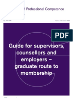 RICS Guide for Supervisors, Counsellors & Employers - Graduate Route to Membership