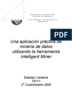 Aplicacion Mineria Datos